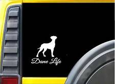 Great Dane Life K682 6 inch Sticker uncropped dog decal