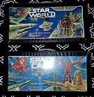 1979-80s TARA TOY ACTION FIGURE CASES<>STAR WORLD & SPACE CASE each holds12 figs