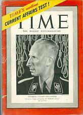 MAGAZINE TIME  NAZI HEYDRICH GESTAPO EXECUTIONER February 23 1942