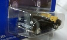 TRIUMPH TR-3-A BLACK JOHNNY LIGHTNING MODEL TAN RHD In 1:63 BLACK TRIUMPH TR3-A