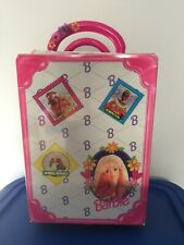 1997 Tara Mattel Barbie Rolling Doll Suitcase Overnight Travel Storage Case