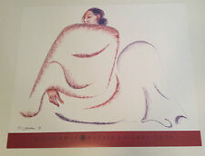 """RC GORMAN SIGNED Poster, """"NAKAI"""" 1995 Size is 25"""" X 30"""""""