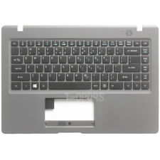 New For Acer Aspire One Cloudbook 14 AO1-431-C2Q8 Grey Palmrest & US Keyboard