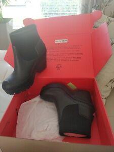 Hunter Wellington boots size 6