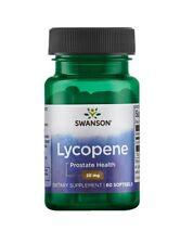 Swanson Lycopene 20mg 60 Softgels Men Prostate Health Heart Support