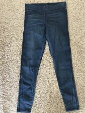 JOES Girls Off Duty Legging Pants Paige Size Large Blue Spandex
