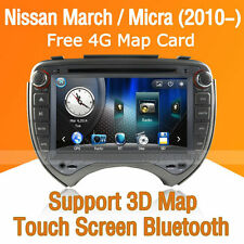 Car Multimedia Player for Nissan Micra March 2010-2014 DVD GPS Navigaiton Radio