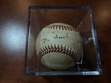 GEORGE H.W. BUSH - Signed BASEBALL TO NATHAN w/ Inscrip - PSA DNA LOA AUTHENTICS