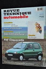 Revue technique automobile Fiat Cinqucento n° 571