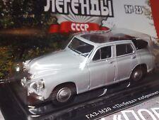 1:43 GAZ-M20 POBIEDA cabrio (2) Russian LEGEND Diecast + Magazine #23