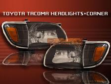 2001-2004 TOYOTA TACOMA HEADLIGHTS JDM BLACK+CORNER