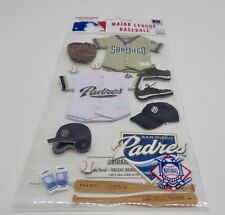 San Diego Padres Craft Sports Promotional Sticker Package Major League Baseball