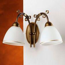 Wandleuchten im Antik-Stil in aktuellem Design mit 1-3 Lichtern