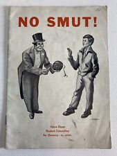 No Smut! University of Notre Dame Student Committee for Decency Book 1939