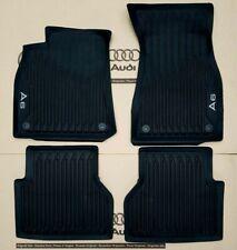 Audi A6 C8 4K original Fußmatten Gummimatten vorne + hinten Gummifußmatten