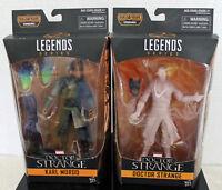 Karl Mordo Astral Dr Strange Marvel Legends Infinite 2016 BAF Dormammu Set of 2