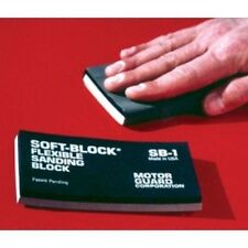 Motor Guard SB-1 Sanding Block, Soft-Block, Flexible, Double Density