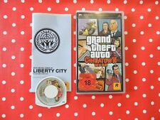 GRAND Theft Auto Chinatown Wars GTA PSP Playstation Portable Ovp Istruzioni usk18