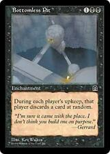 BOTTOMLESS PIT Stronghold MTG Black Enchantment Unc