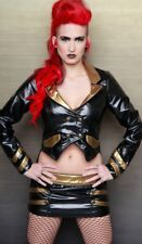 LIP SERVICE - FETISH ALLIANCE - DOUBLE BREASTED JACKET BLACK/GOLD - FETISH
