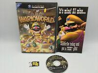 Wario World (Nintendo GameCube, 2003) Complete, Tested