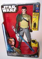"Brand New! Star Wars Rebels Electronic Duel Kanan Jarrus 12"" Action Figure"