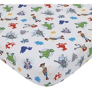 Disney Toy Story 4 2Piece Toddler Sheet Set with Fitted Crib Sheet & Pillowcase