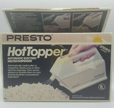 NOS Presto Hot Topper #03000 Automatic Electric Butter Melter Toppings Dispenser