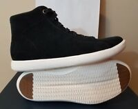 Womens Cole Haan Grand Crosscourt High Top Sneaker Black Suede Size 11 NWT