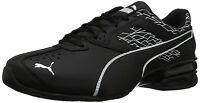 PUMA Mens Tazon 6 Fracture FM Low Top Lace Up Fashion Sneakers, Black, Size 11.5