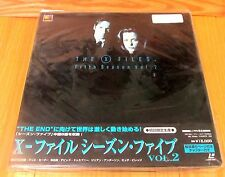 X-FILES LASERDISC BOX SET 5th SEASON Vol 2 BRAND NEW & FACTORY SEALED