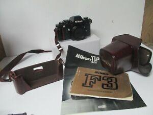 Nikon Camera F3 1384751 w Case
