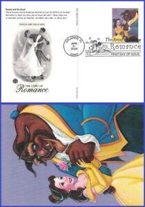 USA3 #UX453 U/A PCS ARTCRAFT FDC   Beauty and Beast - Disney