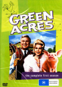 Green Acres Season 1 DVD Brand New and Sealed Australian Release