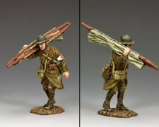 KING & COUNTRY FIELDS OF BATTLE FOB116 FRENCH POILU MARCHING MEDIC MIB