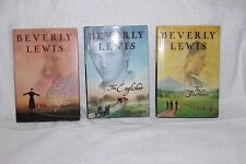 Lot of 3 Beverly Lewis Annie's People Christian Novels Large Hardcover Books