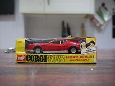 corgi 391 JAMES BOND 007 FORD MUSTANG mach 1 boxed all original