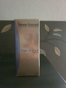 ♡ Bruno Banani ♡ Time To Play ♡ Eau de Toilette ♡ 50 ml ♡ NEU+OVP ♡