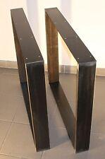 rapa mensalis Industriedesign Tischgestell schwarz Rohstahl 70 x 73