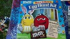 M & M Collectible Toy Red & Yellow's Easter Egg Hunt Kit *