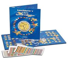 Leuchtturm Münzalbum Presso Euro-Collection für 2-Euro-Münzen