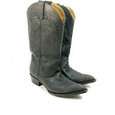 Men's Montana Cowboy Boots Size 11 Black 24789