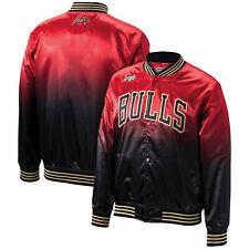 Mitchell & Ness CNY Chicago Bulls Satin Bomber Jacket CBUNG182691