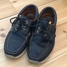 Visvim Deck Shoes. Size UK 10, US 11. Black.