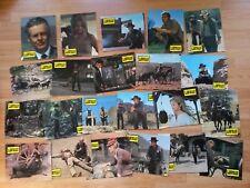 Burt Lancaster LAWMAN - 22 rare German lobby cards 1971 Robert Ryan - M.WINNER
