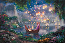 "Jigsaw Puzzles 1000 Pieces ""Rapunzel"" / Disney/ Thomas Kinkade / Schmidit"
