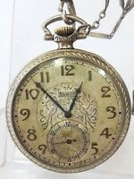ELGIN U.S.A. 1920-25 Gold Filled 25 Years FAHIS BRISTOL  Antique Pocket Watch