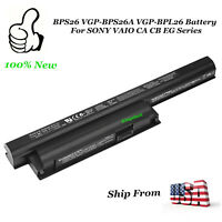 OEM Genuin BPS26 VGP-BPS26A VGP-BPL26 Battery for SONY VAIO CA CB EG Series 59Wh