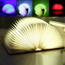 USB LED Veilleuse Lecture de Livre Table Lampe Light Lumière Chambre Déco Cadeau