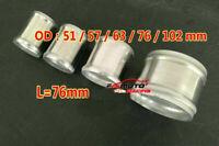 "3"" 76mm Straight L=76mm Aluminum Turbo Intercooler intake Pipe Piping Tubing"
